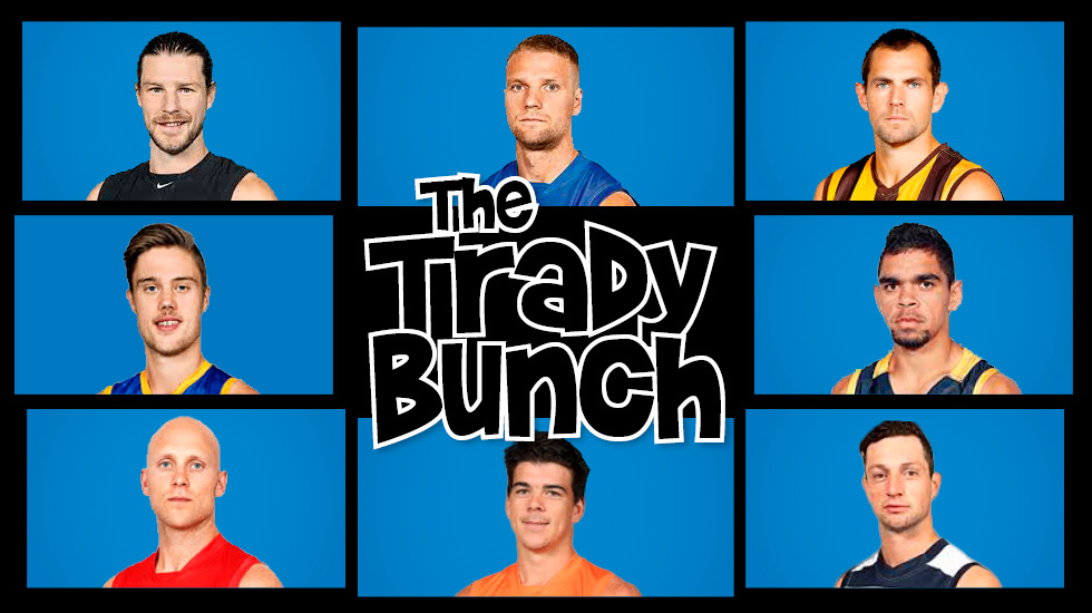 "♫ ""That's the way they all became the Trady Bunch"" ♫"