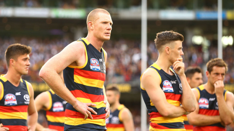 Ground and crowd were no excuses for Crows' crumble