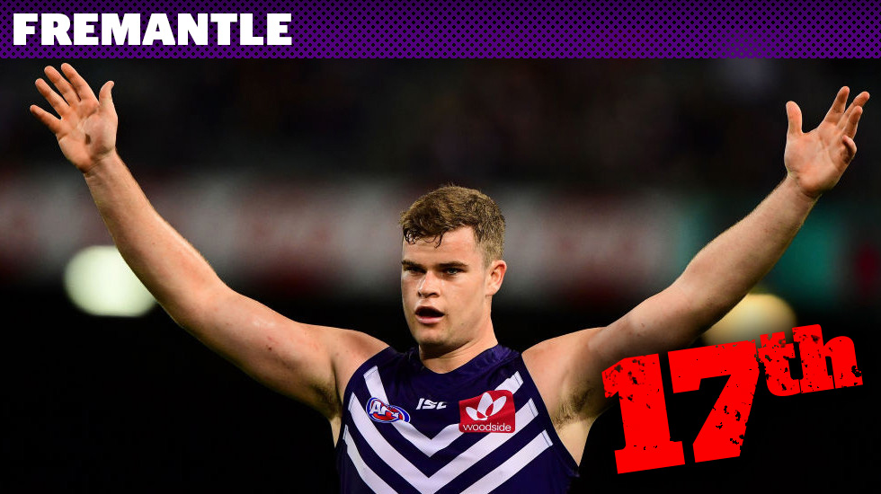 """Footyology countdown: Is it """"Freo heave low"""" for Dockers?"""
