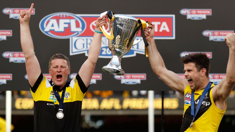 Tale of the tape for your AFL team in 2018: Richmond