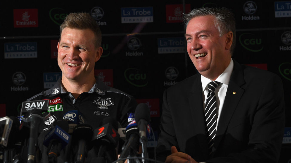 Pride played a big part in Pies' Buckley reappointment