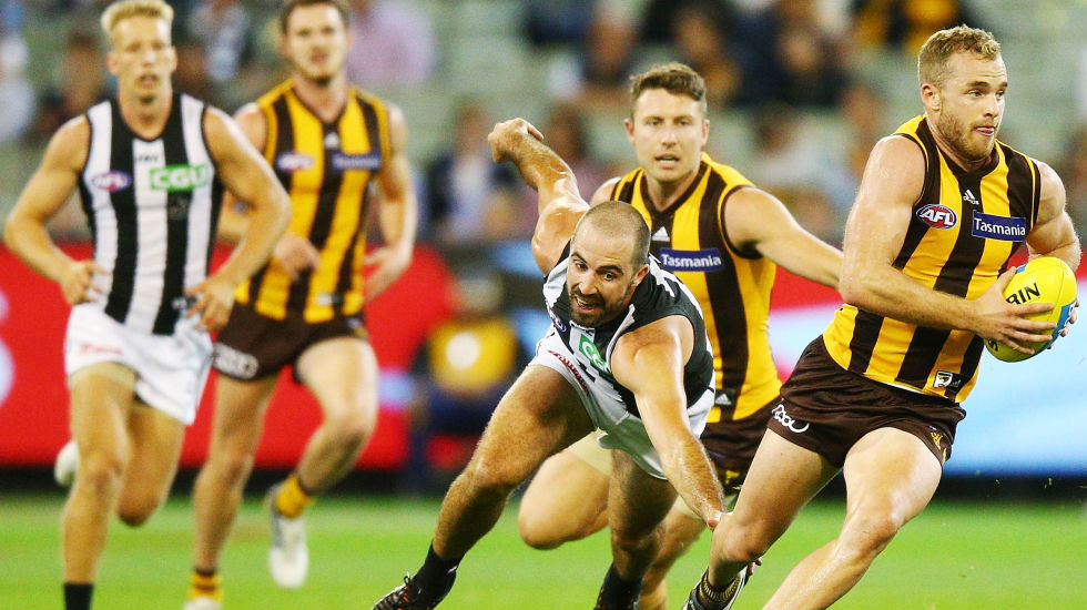 Match of the Day: Hawks give Pies a lesson in skill