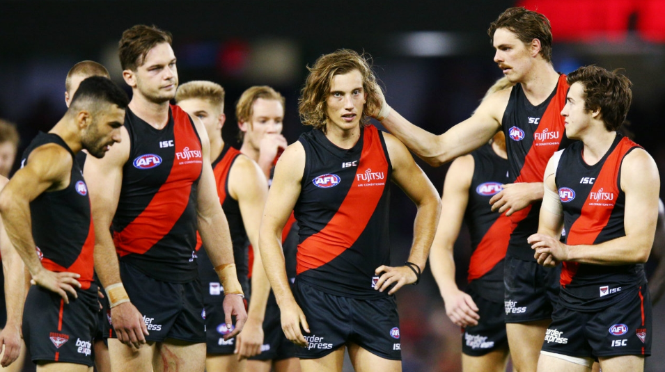 Mediocre midfield is at the root of all Essendon's evils