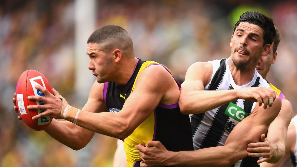 Round six replay as Richmond runs over the top of Pies again
