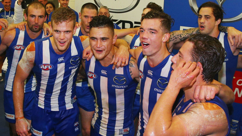 Tale of the tape for your AFL team in 2018: North Melbourne